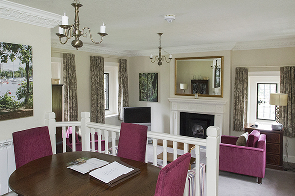 King Charles apartment at Rhinefield in the New Forest